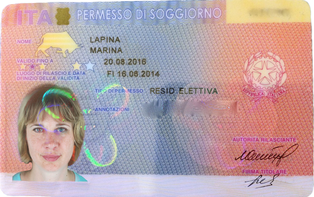 THE RESIDENCE PERMIT OF ITALY | 5 Stars Europe